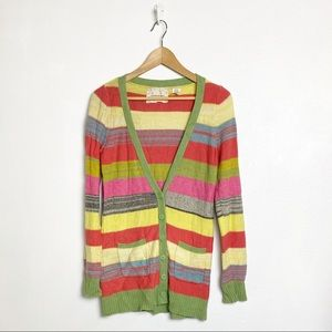Coincidence & Chance striped multicolored cardigan